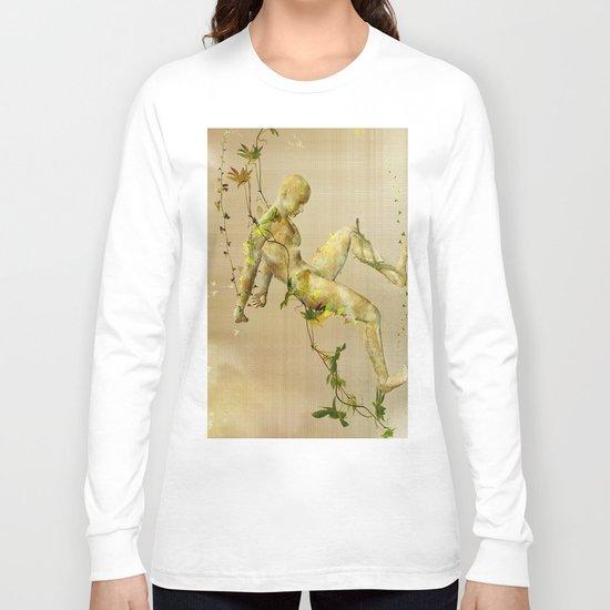 The man vegetable Long Sleeve T-shirt