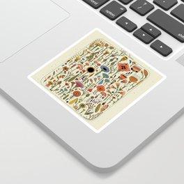 Wildflower Chart Sticker