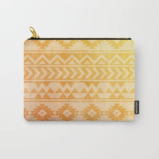 Aztec Pattern 08 Carry-All Pouch