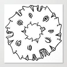 Doughnut Time Canvas Print