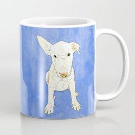 English bull terrier puppy pop art Coffee Mug