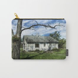 Textured Cottage Carry-All Pouch