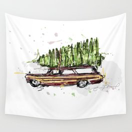 Perfect Christmas Tree Wall Tapestry