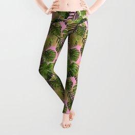 Tropical Leaves Leggings