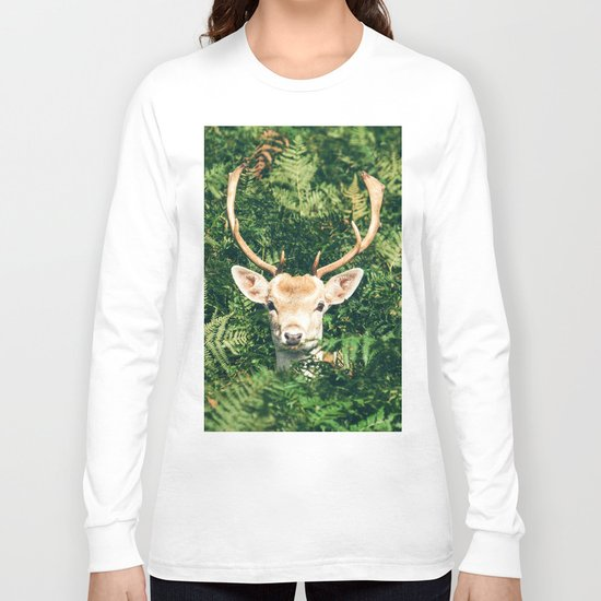 deer cerf 4 Long Sleeve T-shirt