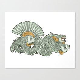Barcelona dragon Canvas Print