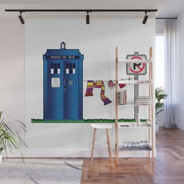 Doctor Who: tardis wardrobe  Wall Mural