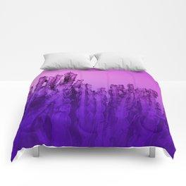 Cactus UltraViolet Comforters