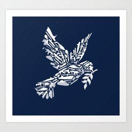 Peace? Art Print
