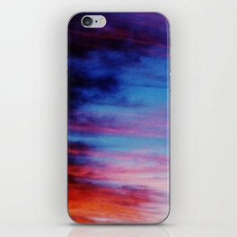 Colorful Sunset Clouds iPhone Skin