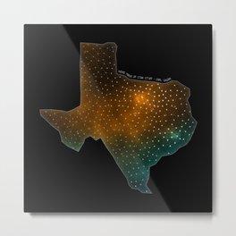 Texas StarStuff Metal Print