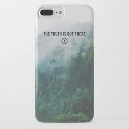 THE TRUTH IS OUT THERE iPhone Case