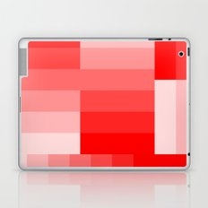 Shades of Red Gradient Laptop & iPad Skin