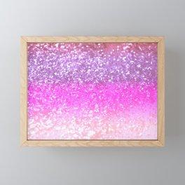 Unicorn Girls Glitter #1 #shiny #decor #art #society6 Framed Mini Art Print