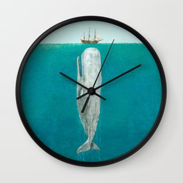The Whale - Full Length  Wall Clock