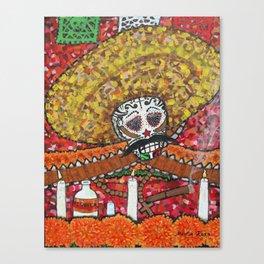 Altar a Zapata Canvas Print