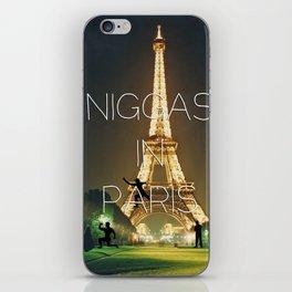 Niggas In Paris iPhone Skin