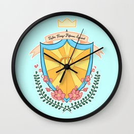 Tyler Posey Defense Squad Wall Clock