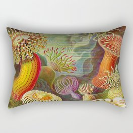 Vintage Sealife Underwater Rectangular Pillow
