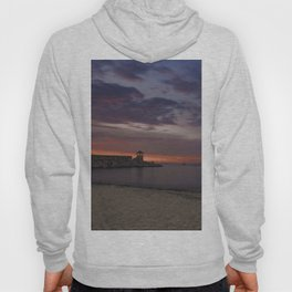 Front Beach After sunset Hoody