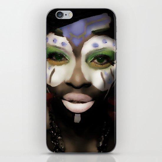 bleuGRN iPhone & iPod Skin