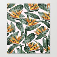 Bird Of Paradise Pattern #society6 #decor #buyart Canvas Print