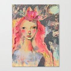 Namaste soul Canvas Print