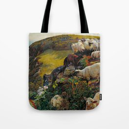 William Holman Hunt - Our English Coasts Tote Bag