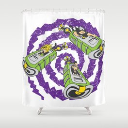 Tentacle Traveling Shower Curtain