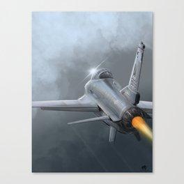 General Dynamics F16 Fighting Falcon Canvas Print
