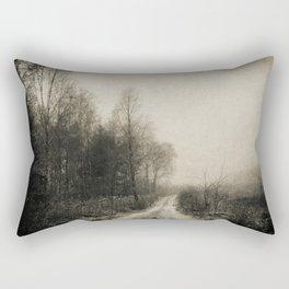 Snowfalls Gone By Rectangular Pillow