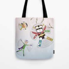 The Nick Yorkers in December Tote Bag