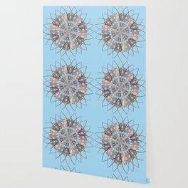 Lizard Snowflake Wallpaper