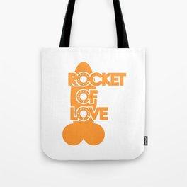 Rocket Of Love Tote Bag