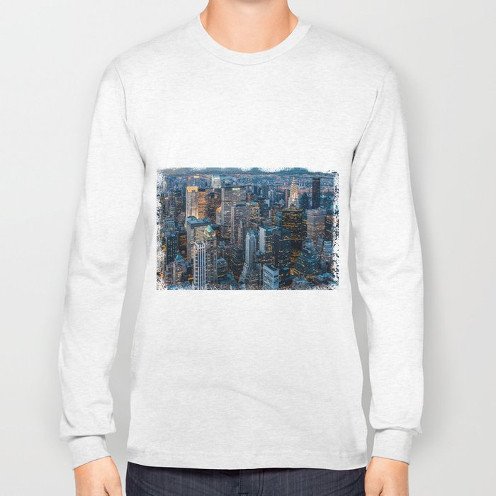 Manhatttan - Downtown Long Sleeve T-shirt