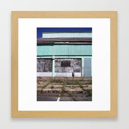 Keep Out, Asbury Park, New Jersey Framed Art Print