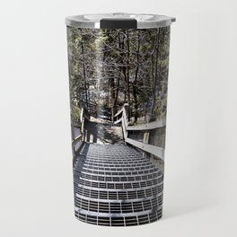 Tahquamenon Stairs Travel Mug