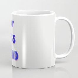 Eat Less Bread Coffee Mug