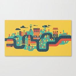My capital Canvas Print