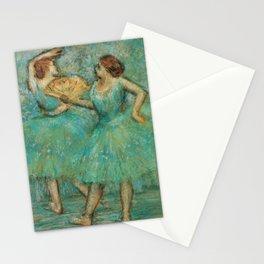 Edgar Degas - Two Dancers, 1905 Stationery Cards