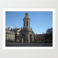 dublin Art Prints featuring Dublin by Ganeswar Sahoo