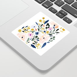 Sierra Floral Sticker