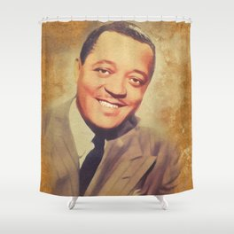 Lester Young, Music Legend Shower Curtain
