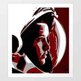 Anna Lee Fisher Art Print