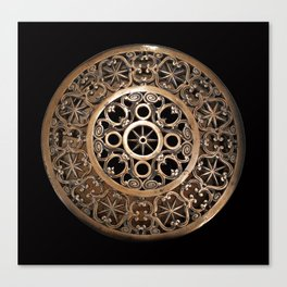 ancient metal object Canvas Print