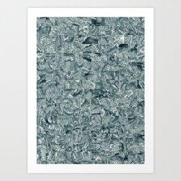 Abstract 207 Art Print