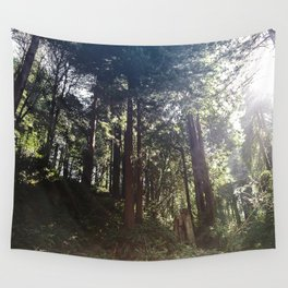 Redwoods Secret Staircase Wall Tapestry