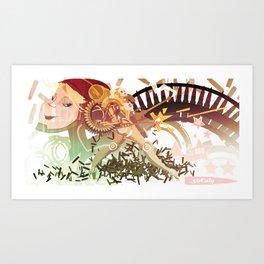 50 Caly Art Print