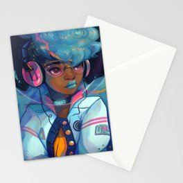 Space Letterman Stationery Cards