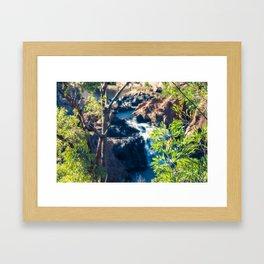 Dreamlike Australian Landscape Framed Art Print